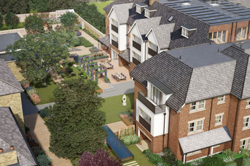 The Mulberry Court Show Apartment is now open for viewings