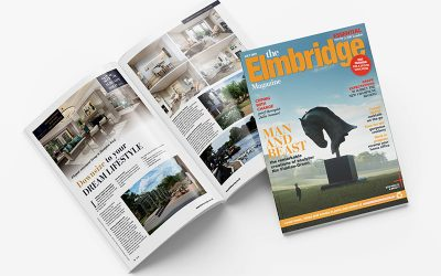 Find us featured in this months Elmbridge and Kingston Magazine